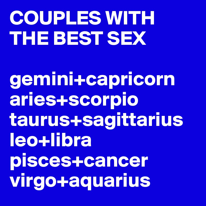 Capricorn And Virgo Sex 10