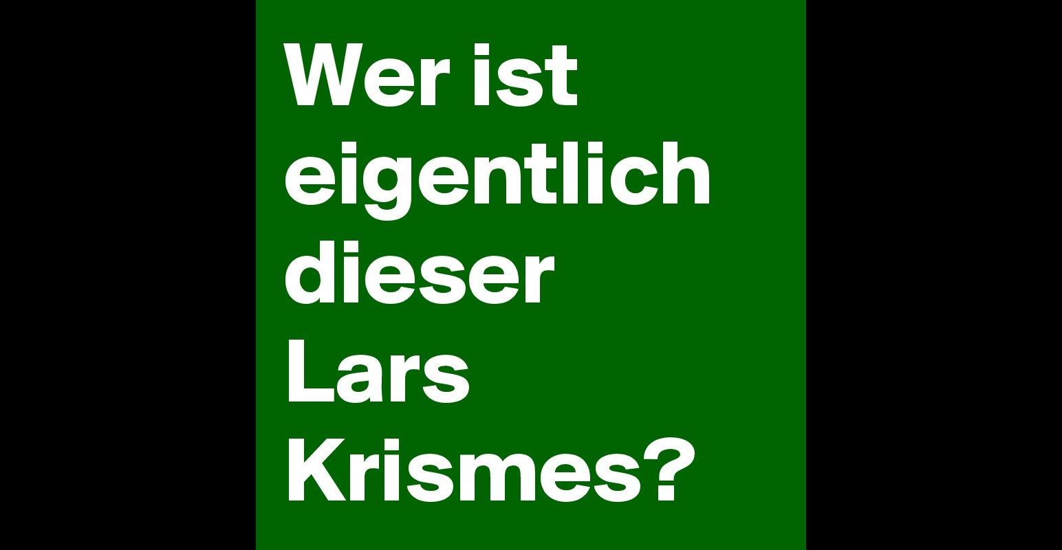 Wer Ist Eigentlich Dieser Lars Christmas