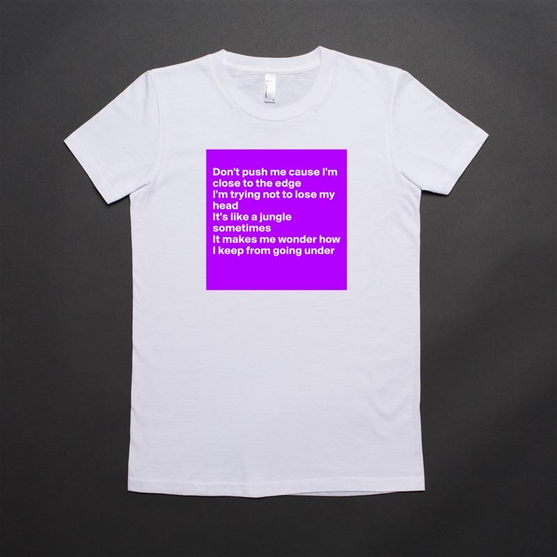 Womens White Cotton T Shirts