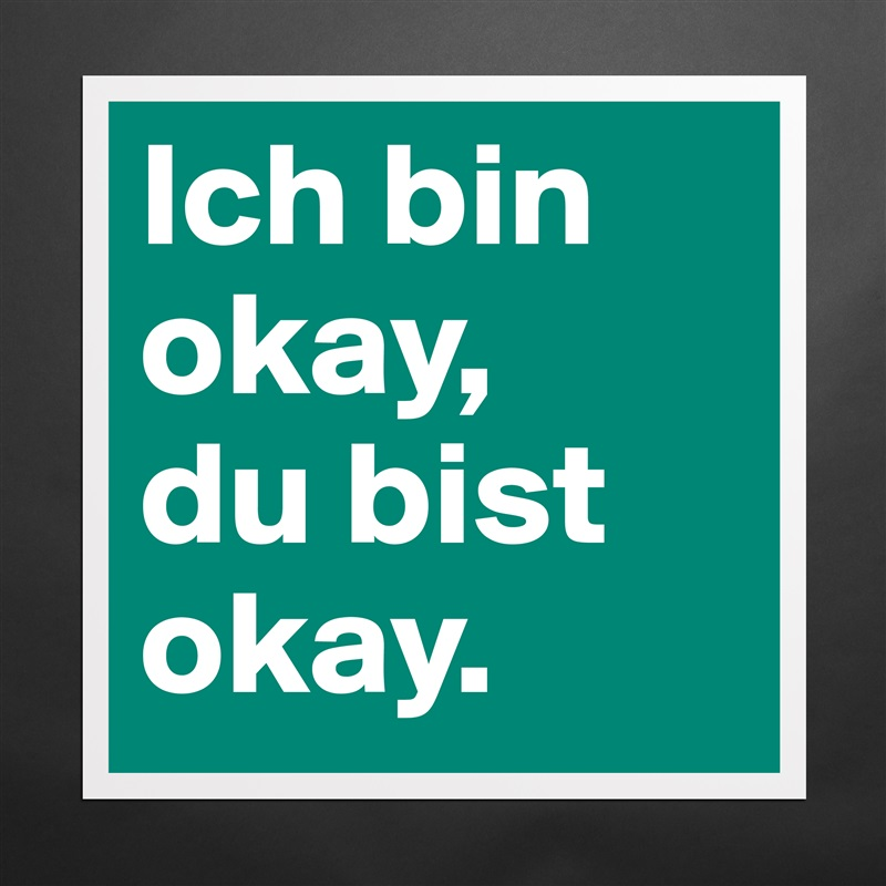 ich bin ok du bist ok